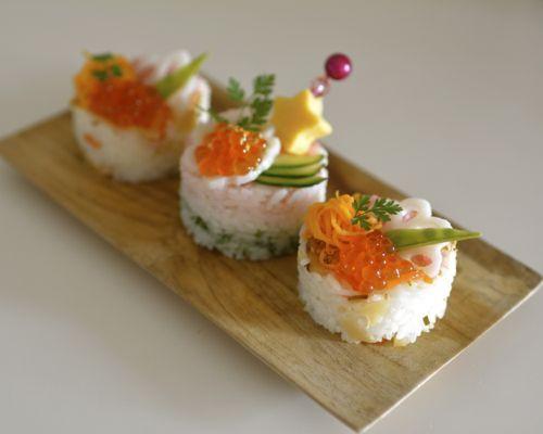 ひな祭りのパーティに♡小さくかわいいちらし寿司の盛りつけアイデア♡♡