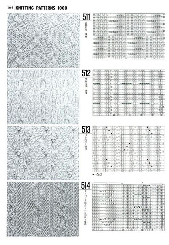 Cable Knitting Diagram : Best images about knitting celtic aran cable stitches