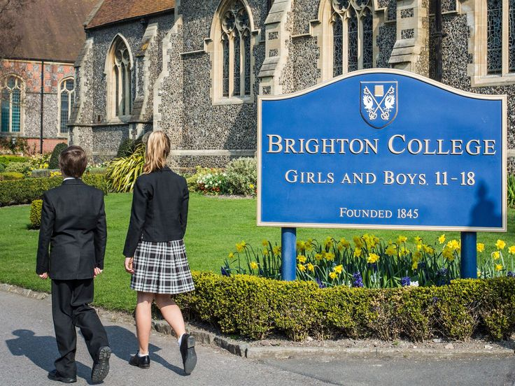 Good News! Private schools have long taken a strict approach to uniform. With a tie knotted not quite right or a skirt pulled too high, a pupil could expect to be hauled into the head's office. But now the 170-year-old Brighton College, regularly named among the top 10 schools in England for academic results, has ditched the usual hidebound insistence on tradition to allow boys to wear skirts and girls to wear trousers if they wish.