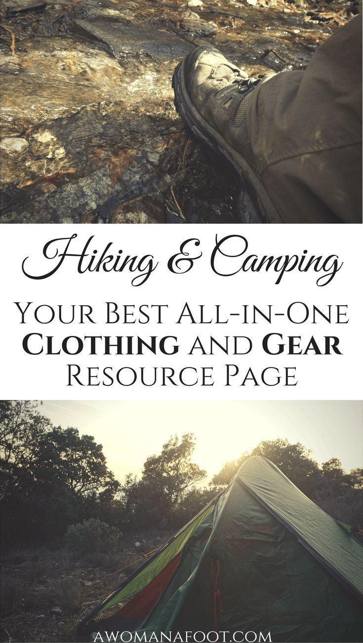 Your All-in-One Resource Page for Hiking & Camping Clothing and Gear. http://Awomanafoot.com