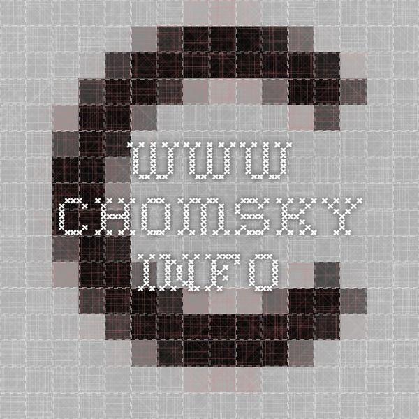 www.chomsky.info