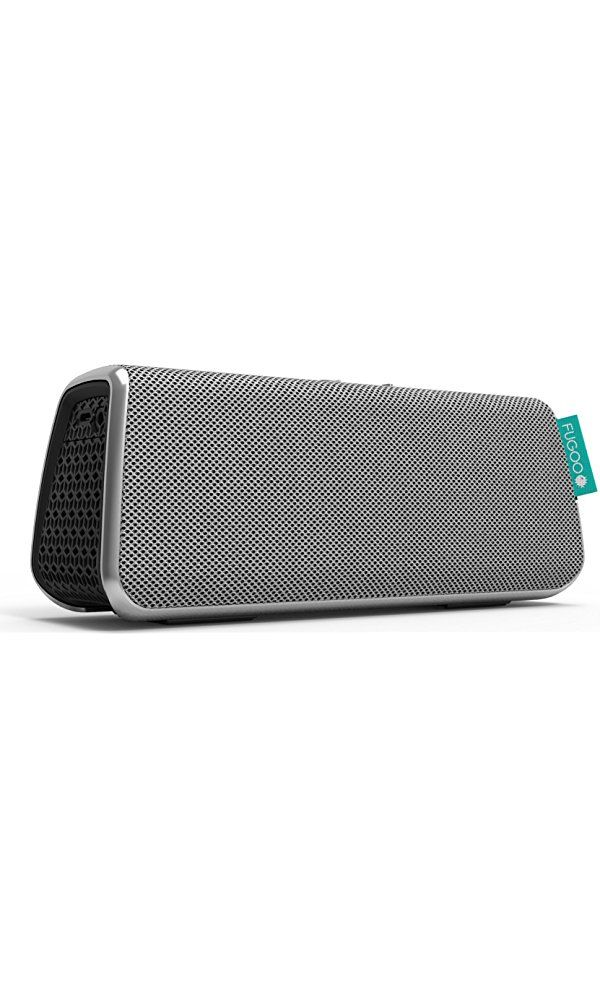 FUGOO Style - Portable Bluetooth Surround Sound Speaker Longest Battery Life with Built-in Speakerphone(Silver) Best Price