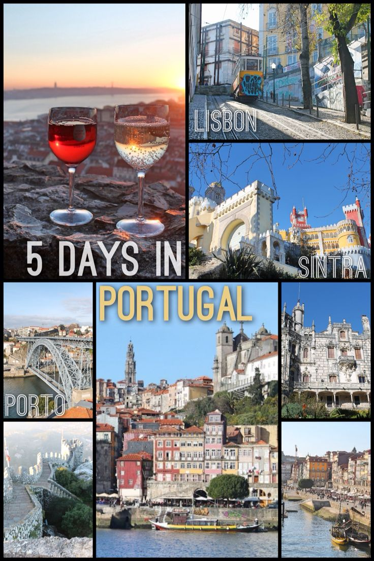 5 Days in Portugal: Lisbon, Sintra and Porto Read More: http://mismatchedpassports.com/2016/01/17/5-days-in-portugal-lisbon-sintra-porto/ #travel #Portugal