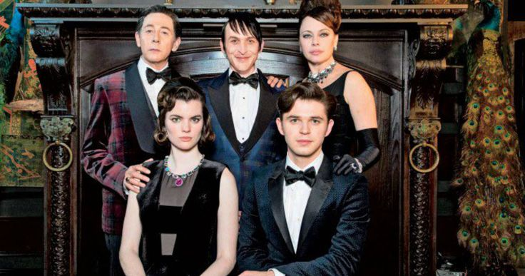 Penguin Family Portrait Unveiled in 'Gotham' Season 2 -- Paul Reubens heads the Van Dahl family as they pose for an inviting portrait in next week's all-new episode of 'Gotham'. -- http://movieweb.com/gotham-season-2-penguin-family-portrait/