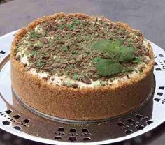 South African Peppermint Crisp Tart eeyyyuumm! perfected by @Faith Huffman