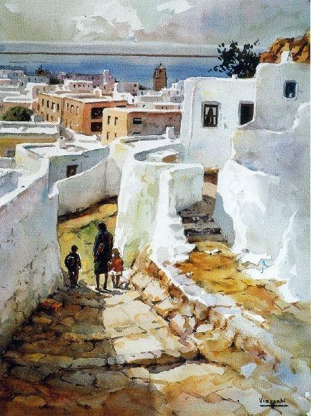 Julio Visconti, es un pintor nacido en Fiñana (provincia de Almería, Andalucía, España) en junio de 1922, especializado en acuarela.
