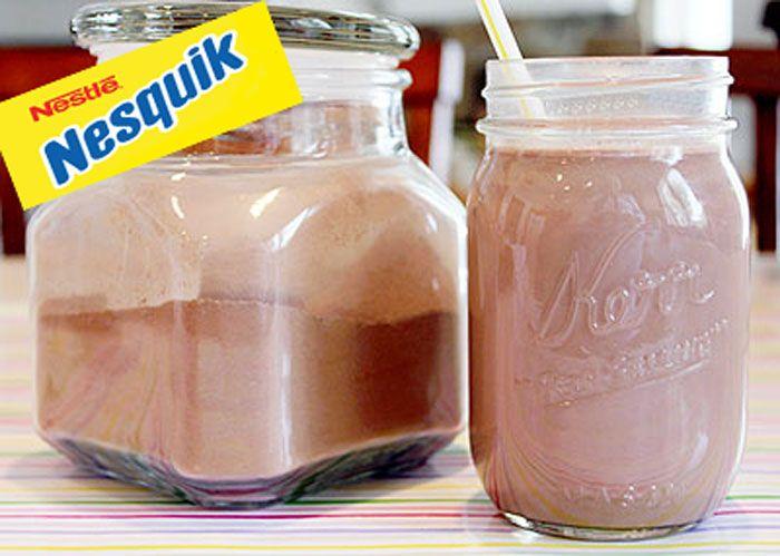 Nesquik fait maison avec Thermomix, une recette de chocolat en poudre facile et simple à réaliser, retrouvez les ingrédients et les étapes de préparation.