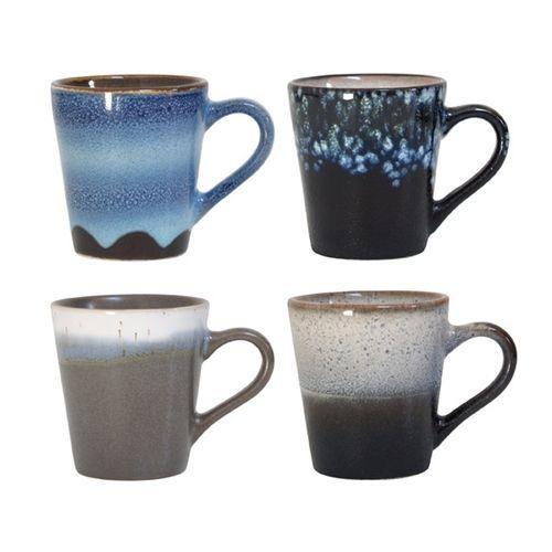 Set van 4 espressokopjes