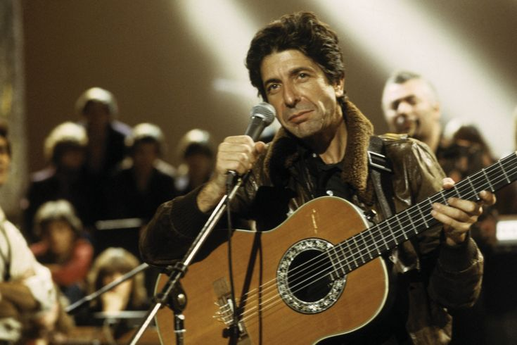 Article by Jennifer Warne, Leonard Cohen on stage in 1979 during the Field Commander Cohen tour.   Photo: 90060 / KPA / DPA / PA Images