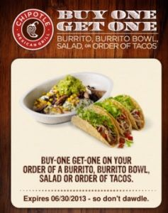 Chipotle BOGO Coupon! http://takecoupons.net/restaurantscoupons/item/chipotle-coupons