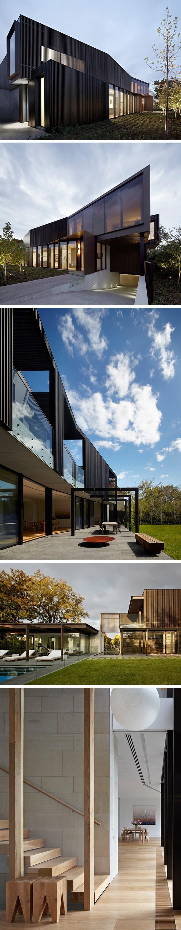 Shrouded House Par Inarc Architects