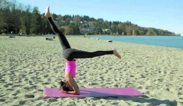 Zain Saraswati Jamal guides us through the King of all Yoga Asanas, Headstand A.