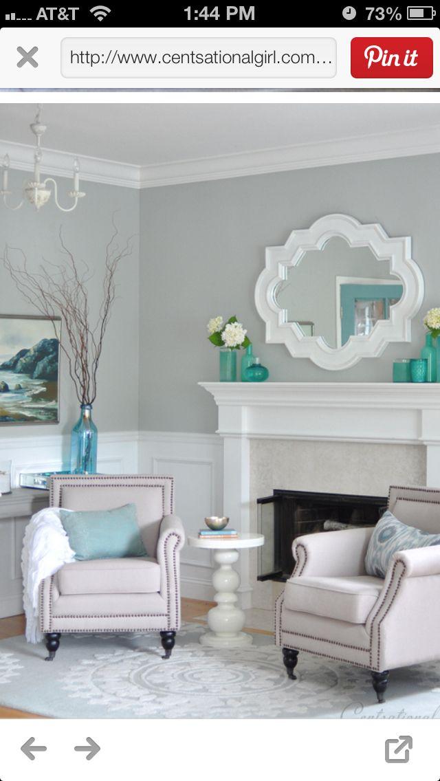43 Best Interior Paint Colours Images On Pinterest
