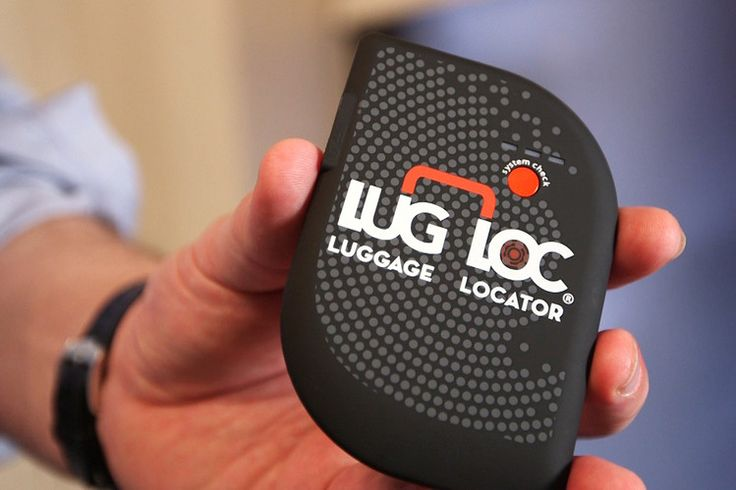 The LugLoc, like the Trakdot, is about the size of a wallet, connects to…