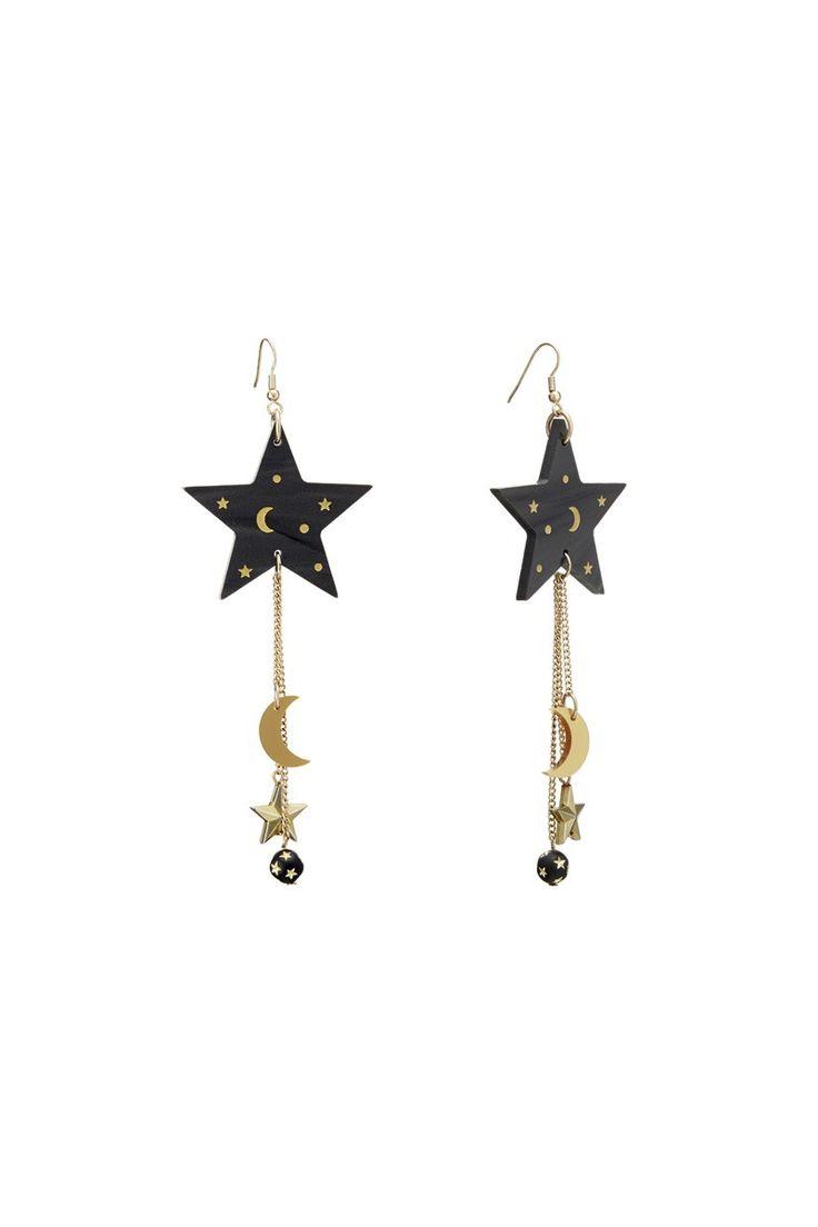 Midnight Mystic Earrings, £60: http://www.tattydevine.com/midnight-mystic-earrings.html