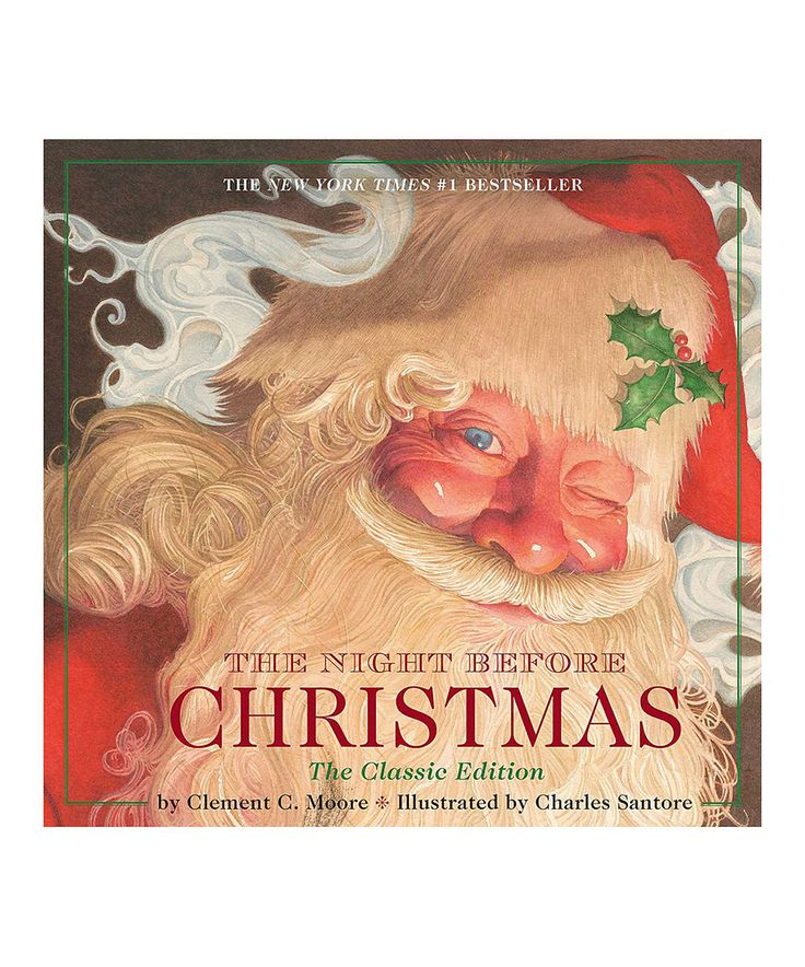 Loving This The Night Before Christmas Classic Edition Hardcover On Zulily Zulilyfinds
