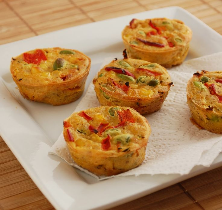 Mini picnic quiche (gluten free, soy free, vegan) by Including Cake