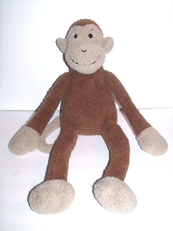 "Jellycat Slackajack Monkey Brown Tan Floppy Plush Bean Bag Stuffed Soft Toy 20"" | Toys & Hobbies, Stuffed Animals, Jellycat | eBay!"