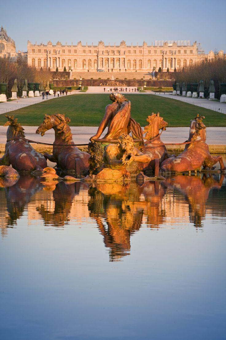 Palacio de Versailles, Francia. Uno de los jardines más bellos del mundo.
