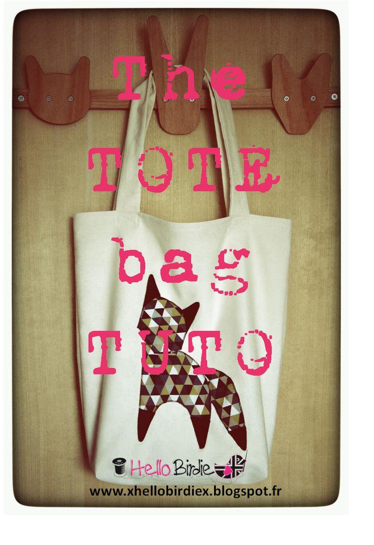 The TOTE bag TUTO by Hello Birdie