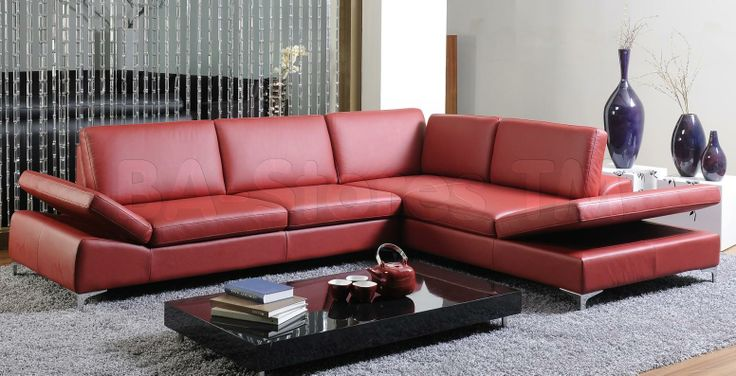 57 best Sectional white or black leather 1800 images on Pinterest ...