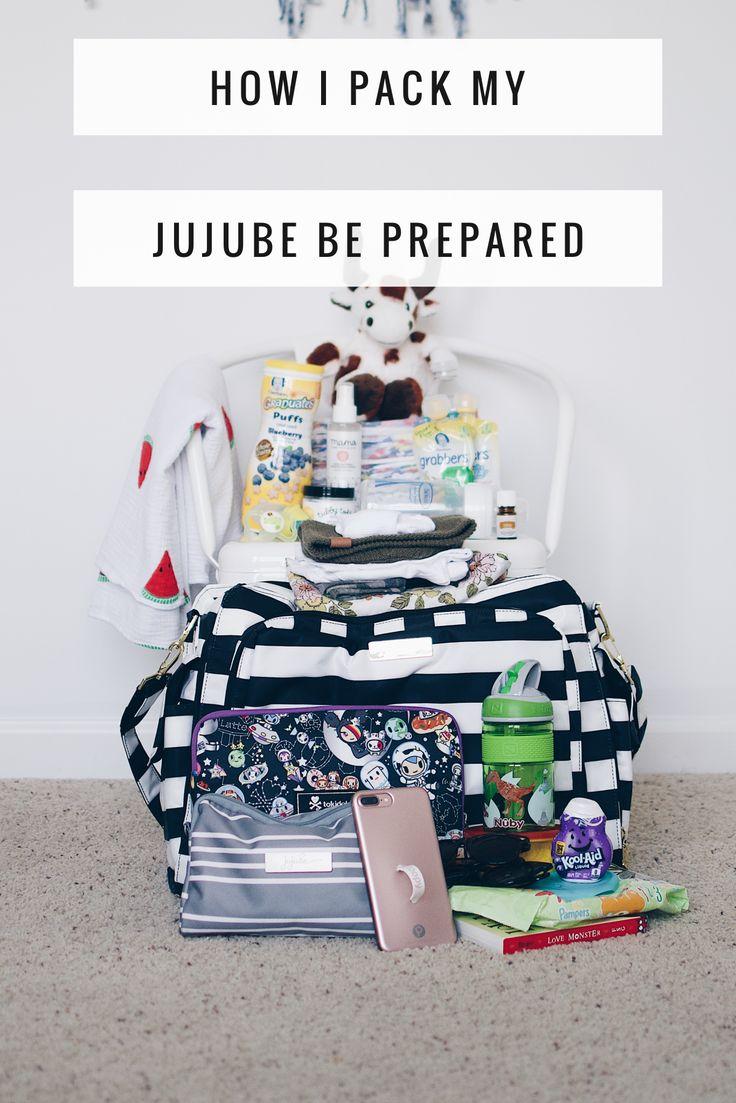 Packing jujube diaper bag, jujube, how to pack diaper bag