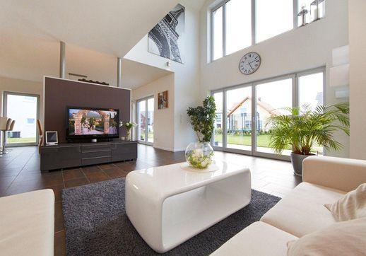 Energieeffizientes Einfamilienhaus individuell geplant - Modell Sanderau - Ein Fertighaus von-GUSSEK HAUS                                                                                                                                                                                 Mehr