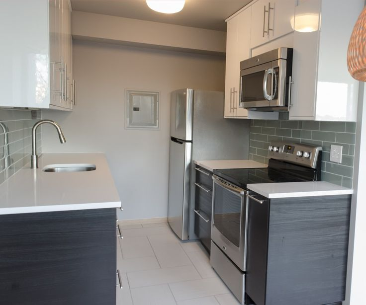 Kitchen, Minimalist Kitchen Design With High Gloss Finish White Granite Countertops Plus Slide Gas Range With Convection Oven In Stainless Steel Plus A Single Sink And Washbasin And Faucets: Awesome Uniquely Kitchen Cabinet Styles