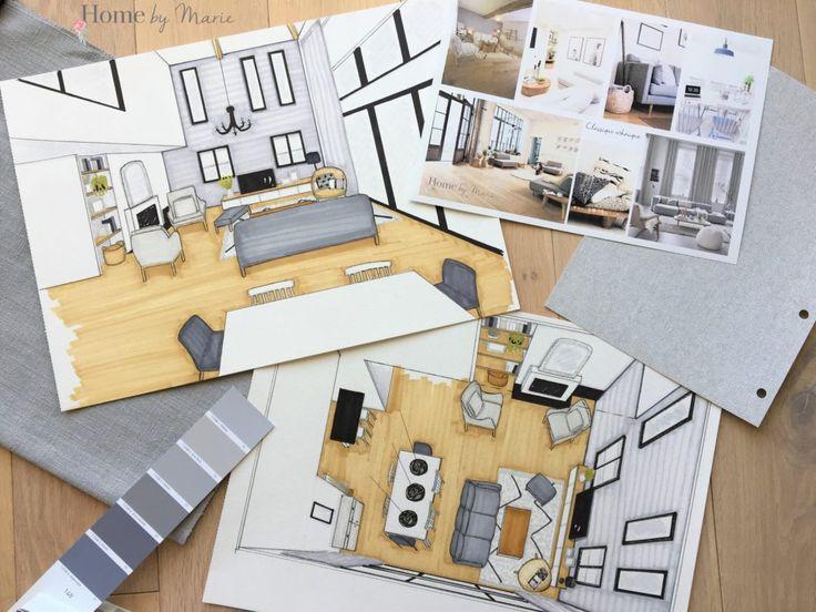 14 best Croquis aménagement du0027espaces images on Pinterest Croquis
