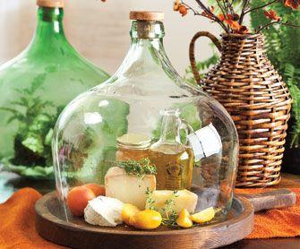 Reciclagem de garrafa de vidro.