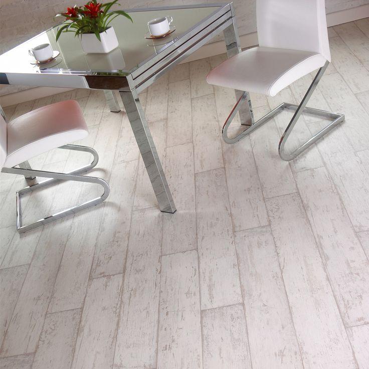 Rhino Step Artwood Bleach White Wood Effect Vinyl Flooring House Flooring Vinyl Flooring Flooring
