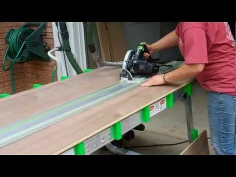 BenchMark Portable Work Table - Work Bench & Cutting Table - YouTube