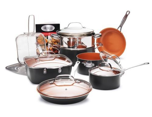 * Gotham Steel Mega All in One Kitchen 14 Piece Cookware Set * $149.99 * Save $150.00 (50% off)