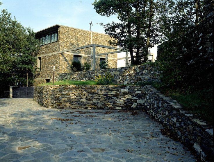 Herzog & de Meuron - Stone house, Tavole 1988.