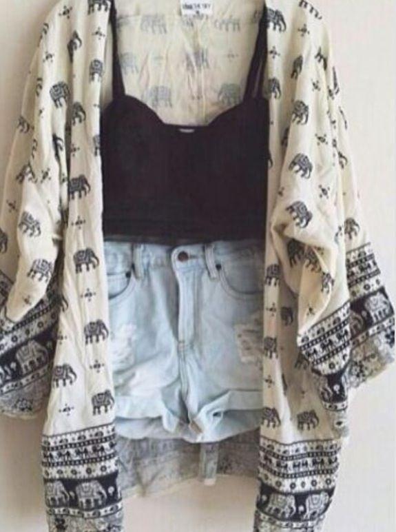 Want this elephant kimono