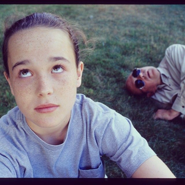 Dads are so embarrassing, especially when your dad is drunken shitweasel Mr Lahey. (Yes, that is a young Ellen Page as Trina!) #TrailerParkBoys