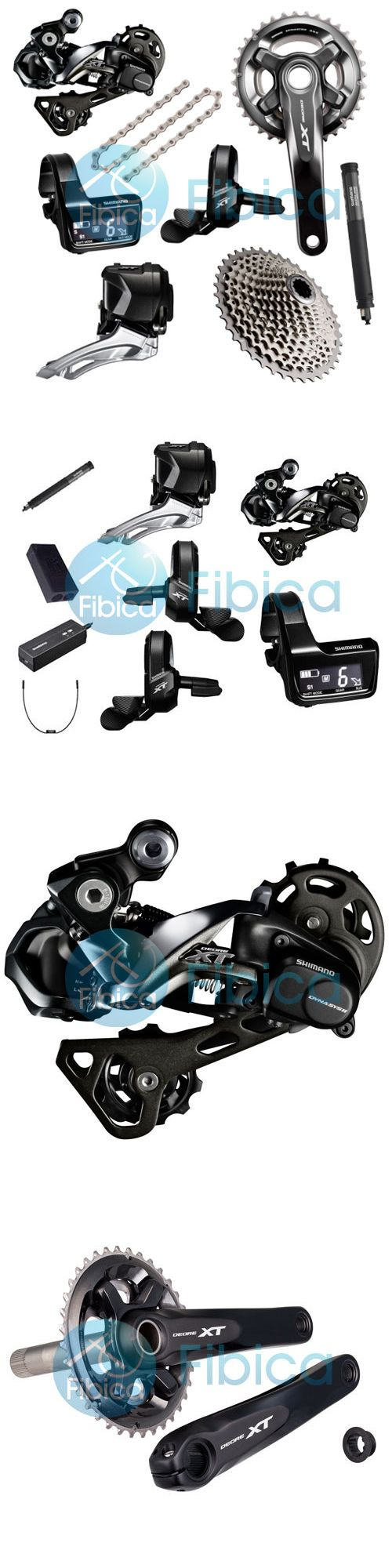 Build Kits and Gruppos 109120: New 2017 Shimano Deore Xt Di2 M8050 M8000 22-Speed Full Group Groupset 170 175Mm -> BUY IT NOW ONLY: $1449.99 on eBay!