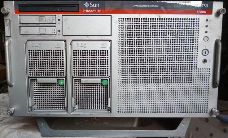 SUN ORACLE – FUJITSU – SPARC ENTERPRISE M4000