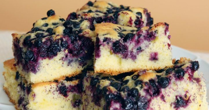 Buttermilk and blueberry breakfast cake   Starts at 60