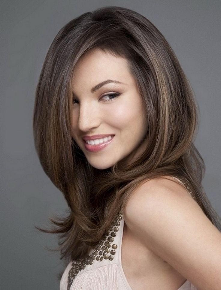 long layered face framing hairstyles - Google Search