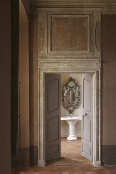 Château de Moissac is too gorgeous to be true ... but it is: The Doors, Provence Style, Provence Chateau, Castle, Bathroom, Decor Blog, Powder Rooms, De Moissac
