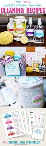 176 Best Images About Homemade Cleaning Recipes On