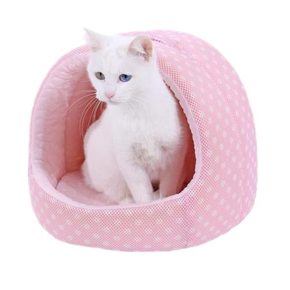 Pet Bed Summer Self Cooling House For Cats Small Dogs