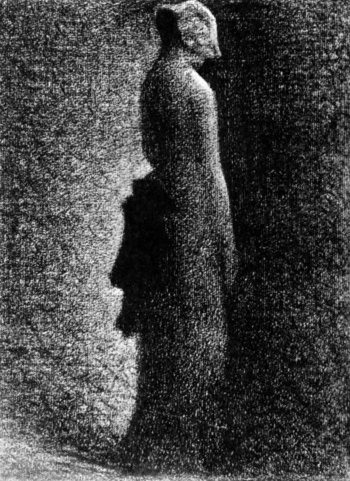 Georges Seurat Жорж-Пьер Сёра. Черный бант