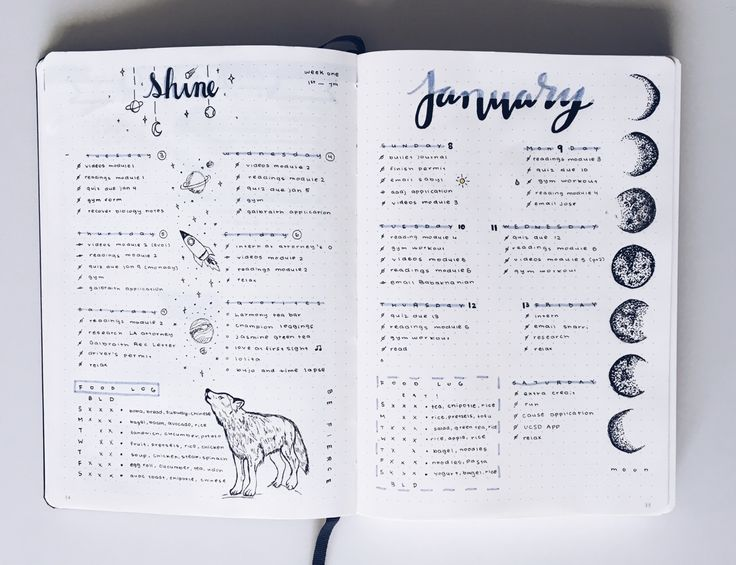 Mya, 17, California. ya dream girl's got work to do. Tracking #stillstudies Bullet Journal Journal Design Planner