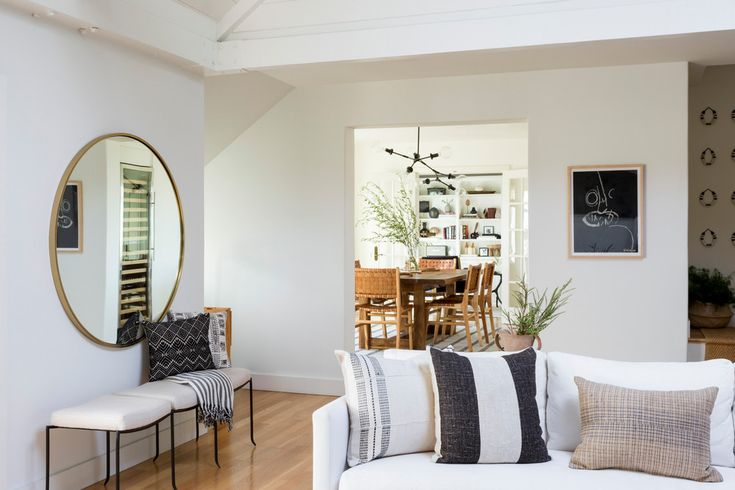 bright and airy living room