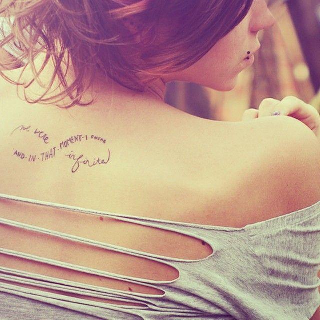 #quote #quotes #quotetattoo #quotetattoos #backtattoo #backtattoos #infinitytattoo #infinitytattoos #infinitysymbol #pretty #prettytattoo #prettytattoos #cute #cutetattoo #cutetattoos #cutegirlytattoos #girly #girlytattoo #girlytattoos #tattoo #tattoos #tatted #tattooed #ink #inked