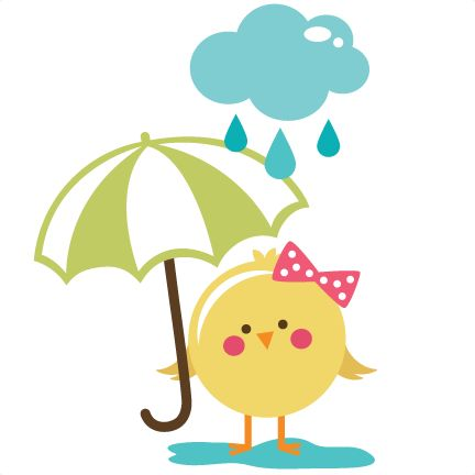 Rainy Day Bird SVG file for scrapbooking cardmaking free svg files free svgs free svg cuts