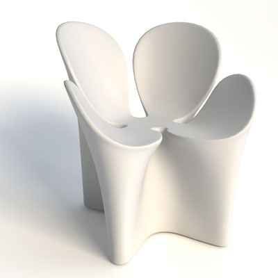 Clover Armchair: Photo