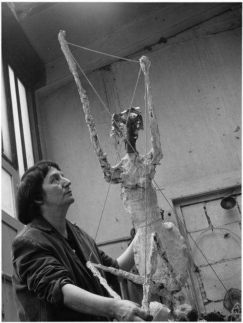 Germaine Richier (Denise Colomb, 1954)